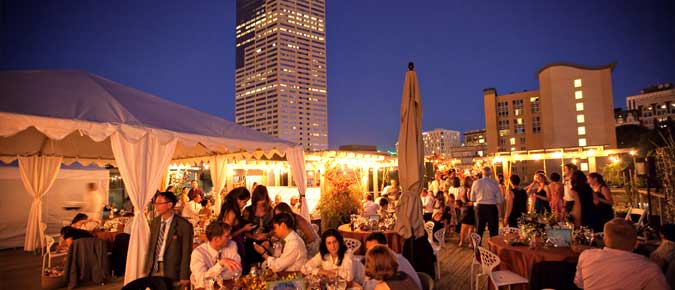 Desoto Rooftop Terrace Catering By Art Of Catering
